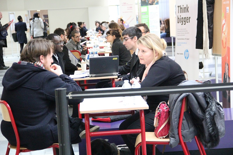 Rencontre entre les entreprises et les étudiant.e.s en situation de handicap